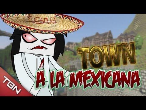 MINECRAFT: TOWN A LA MEXICANA
