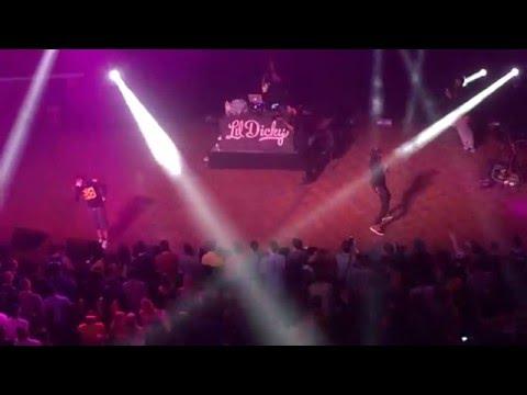 Lil Dicky - White Crime & All K live at the Hill Auditorium in Ann Arbor, MI 04-02-2016