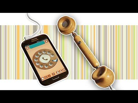 Изготовление телефонной трубки на токарном станке/ DIY