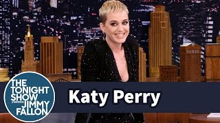 Katy Perry talks to Jimmy about making her third Saturday Night Live appearance and shares a clip of her fooling around backstage at a high fashion Vogue ...