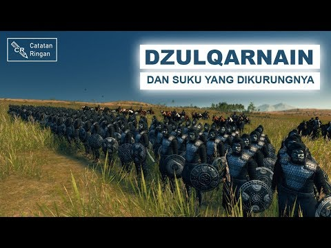 Dzulqarnain Dan Suku Yang Dikurungnya