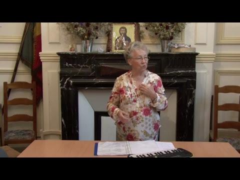 CDS Paris, 15 juin 2017: Hélène Sejournet - Mémorisation évangile