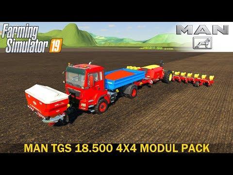 MAN TGS 18.500 4x4 Modul Pack v1.0