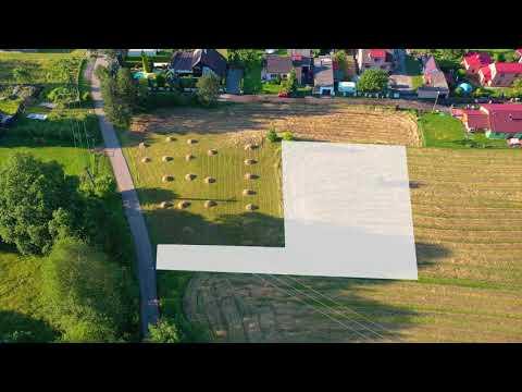 Video Prodej stavebního pozemku 1266 m2, IS na hranici pozemku