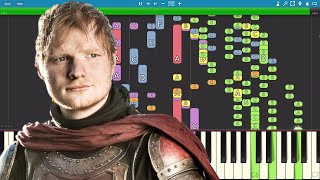 My version of Hands Of Gold, the song that Ed Sheeran sings in Game Of Thrones. Made with Logic Pro X & Synthesia Want to ...