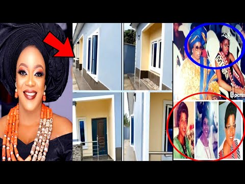 Wow! Actress, Eve Esin, dedicates new mansion to her L@te Mother|| Congratulations
