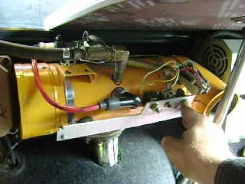 Как переделать печку от запорожца на газ