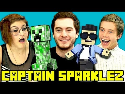 captainsparklez - CaptainSparklez Bonus Reactions Video : http://goo.gl/hvywzv SUBSCRIBE! New vids every Sun/Tues/Thu: http://goo.gl/aFu8C FREE NETFLIX FOR A MONTH! http://net...