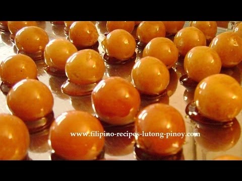 Lutong Pinoy - A very soft and gooey custard candy that was created in the Philippines during the time of our Spanish colonizers is called Yema. It comes from the word yolk...