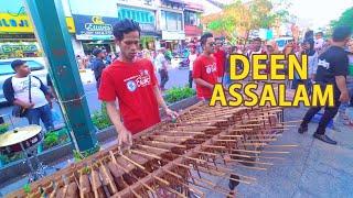 Video Deen Assalam - Cover Angklung, Syahdu Suaranya versi Angklung Carehal (Angklung Malioboro Jogja) MP3, 3GP, MP4, WEBM, AVI, FLV Agustus 2018