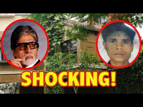 Shocking! A Man Enters Into Amitabh Bachchan's H
