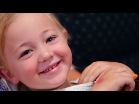 Meet Ruby, one of our telethon kids