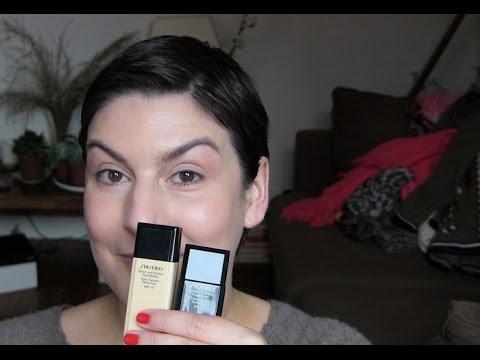 beaute Comparaison des 2 fonds de teint Perfecteurs Shiseido : le Lissant et le Naturel maquillage