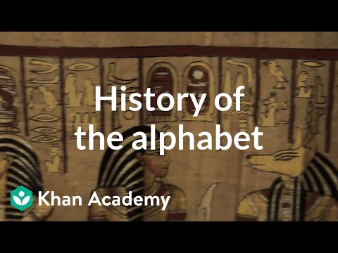 History Of The Alphabet Video  Khan Academy  High School Narrative Essay also Compare And Contrast Essay Topics For High School Students  The Thesis Statement In A Research Essay Should