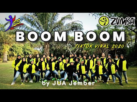 Dj Boom Boom - Tik Tok Viral  2020 / Zumba / Choreo by Zin JUA_Jember