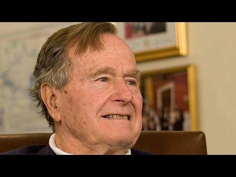 Στην εντατική ο Τζορτ Μπους ο πρεσβύτερος
