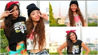 Style Swap: Japan meets California! (Makeover with Asahi)