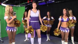 Greg's Surprise - The Minnesota Vikings cheerleaders