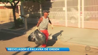Descarte irregular traz riscos para coletores de lixo