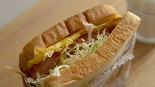 [4K] Korean Street Food Toast : 주말 아침으로 좋은 길거리 토스트   Honeykki 꿀키