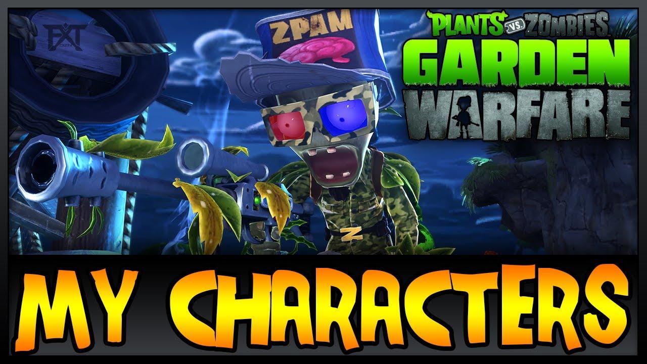 """""""PvZ Garden Warfare"""" – """"My Characters – (Plants)"""" #12"""