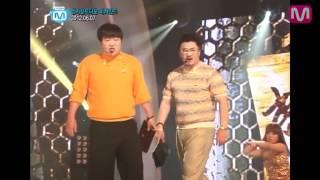 [엠카 비하인드] 형돈이와 대준이, 달샤벳과 90도 맞인사