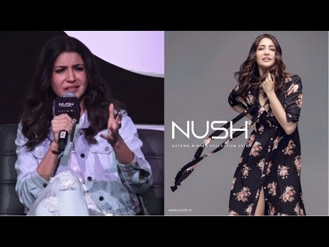 Anushka Sharma Talks About  challenges and difficulties | Launch Of  New Entrepreneurial Venture
