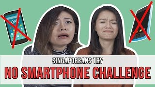 Video Singaporeans Try: No Smartphone Challenge | EP 101 MP3, 3GP, MP4, WEBM, AVI, FLV Oktober 2018