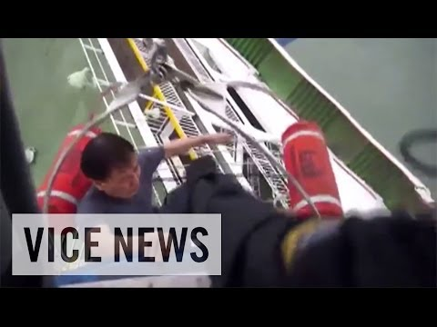 just - Subscribe to VICE News here: http://bit.ly/Subscribe-to-VICE-News A ferry carrying more than 459 people, most of whom were high school students, capsized on ...