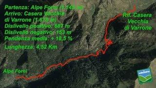 Dall'Alpe Forni al Rifugio Casera Vecchia di Varrone