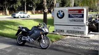 6. 2007 BMW F800ST Motorcycle