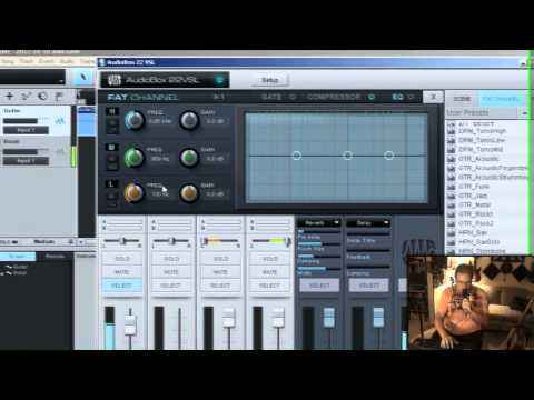 Studio One 2.0 – Audiobox 22vsl and zero latency with Studio One