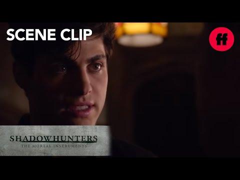 Shadowhunters | Season 1, Episode 9: Alec Tells Magnus About Engagement | Freeform