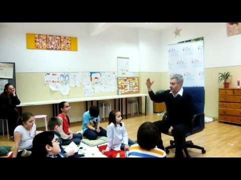 Centrul Gifted Education: Mihaita Toma, Mentor in Dialog cu Copiii Supradotati (3)