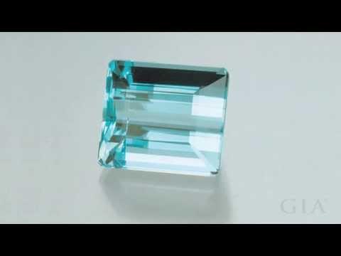 Aquamarine's Color Range by GIA