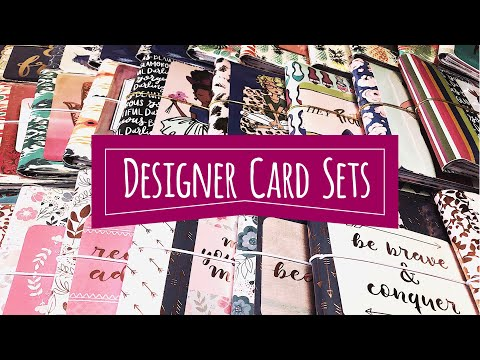 Craft Fair Idea #7:  Designer Card Sets | 2018