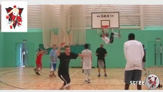 "Conman heads to the midlands to shut down a pick up game, hes also been joined by some other streetball legends.Subscribe to Tom ""Conman"" Connors For Amazing Streetball And Basketball Action - http://bit.ly/1rIJAg8http://www.conmanbasketball.comhttp://www.instagram.com/tomconmanconnorshttp://www.facebook.com/tomconmanconnorshttp://www.twitter.com/conman63Tom ""Con-man"" Connors is considered a street basketball legend and one of the best street basketball players in the world. Not only an urban sport star throughout the globe. Tom entertains millions with his basketball skill and antics from the centre stage to the rugged street basketball courts. Conman appears in All Star and exhibition games and featured in his own TV shows worldwide. Con-man has developed an established portfolio since the beginning of his career, a fully sanctioned Sporting Champion and the face of UK basketball, a multi Guinness World Record holder with 16 basketball world records and a European street basketball champion.  In various fan polls over his career ""Conman"" has consistently been voted in the top 10 streetball players in the world."