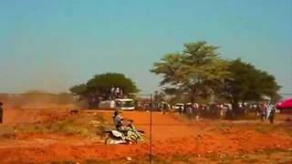 Jwaneng Botswana  City pictures : Botswana Motocross_2011 racing in Jwaneng.