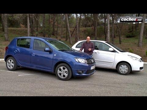 """Dacia Sandero y Tata Vista: Dos """"low cost"""" muy diferentes (2013)"""