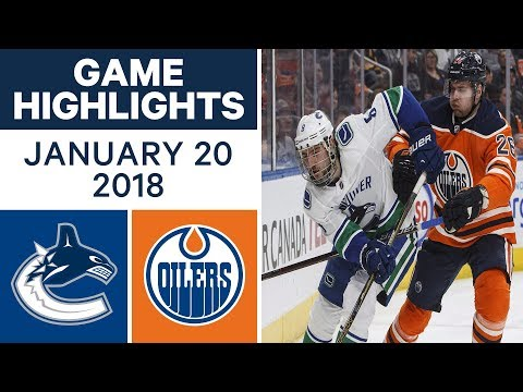 Video: NHL game in 4 minutes: Canucks vs. Oilers