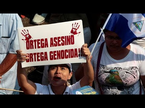 Νικαράγουα: Διαδηλώσεις κατά του προέδρου Ορτέγκα