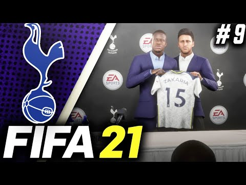 HUGE TRANSFERS!! SIGNING NEW DEFENDERS!! - FIFA 21 Tottenham Hotspur Career Mode EP9