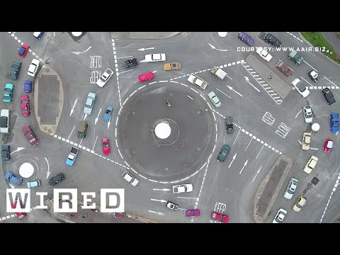 See How an Insane 7Circle Roundabout Actually