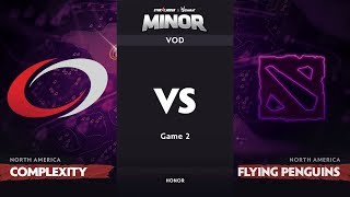 [RU] compLexity vs Flying Penguins, Game 2 Part 1, NA Qualifiers, StarLadder ImbaTV Dota 2 Minor