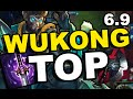 WUKONG TOP IS SO GOOD !! Wukong Top Full Game Commentary! (League of Legends)