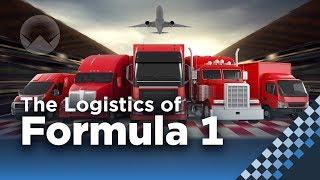 The Insane Logistics of Formula 1