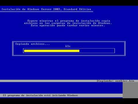 Windows Server 2003 Standard Edition Instalacion.avi