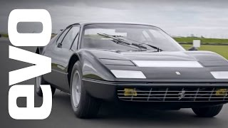 Ferrari 365 GT4 BB driven | evo ICONS by EVO Magazine