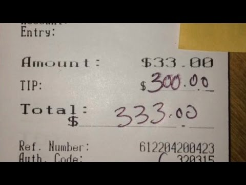 Grandmother Raising Triplets Gets $300 Tip