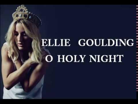 Ellie Goulding - O Holy Night - Chords Lyrics How To Play Guitar ...
